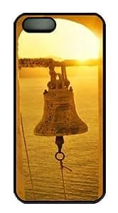 Sakuraelieechyan Bell Iphone 5/5S Hard Shell Black Sides Case