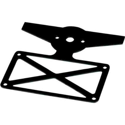 Biltwell Inc. Model B License Plate Sissy Bar Taillight Mount -