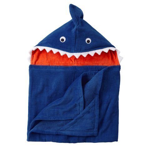 Baby Boy Hooded Bath Towels (Multiple Styles) (Shark) by Carter's