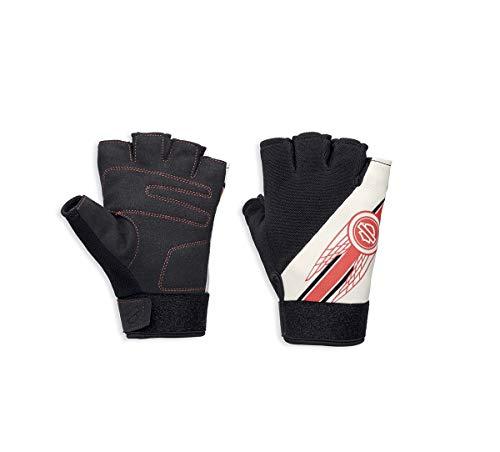 Harley-Davidson Womens Arlee Mesh Fingerless Gloves w/Coolcore 97119-18VW (X-Large)