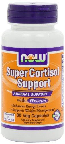 NOW Foods Супер Кортизол Поддержка, 90 Vcaps