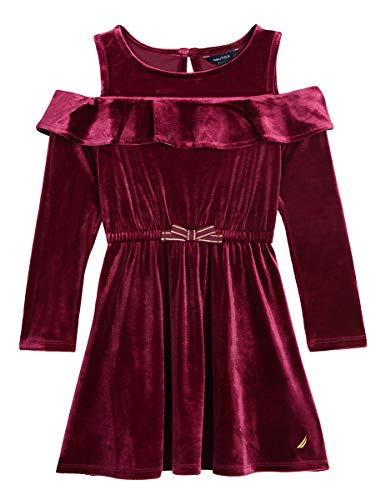 Holiday Dresses Kids - Nautica Little Girls Holiday Party Cold