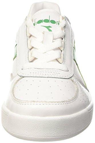Elite Adulto Unisex Bianco Verde Top B Low – Diadora Bco Pisello Crema Bco Scarpe S0Afqx5
