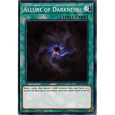 Allure of Darkness - SR06-EN024 - Common - 1st Edition: Toys & Games