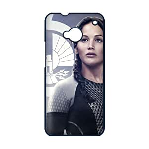 Every New Day The Hunger Games Katniss Everdeen Jennifer Lawrence Unique Custom HTC ONE M7 Best Durable Plastic Cover Case
