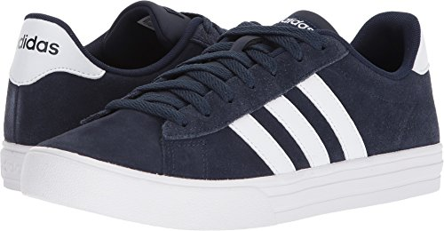 adidas Men's Daily 2.0 Sneaker, Collegiate Navy White, 11 M US