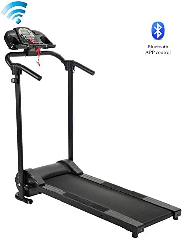 ZELUS Folding Treadmill for Home Gym, Portable Wheels, 750W Electric Foldable Running Cardio Machine with Cup Holder, Sports App Walking/Runners Exercise Equipment 17