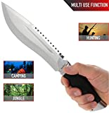 Jungle Rambo Bowie Survival Knife - Big Survival