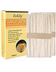 Yongluo Disposable Wax Stick Wood Waxing Sticks Spatulas Applicators for Hair Removal Eyebrow Leg & Body