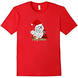 Maltese Dog Christmas T-shirt Gift Puppy Love Xmas Wish
