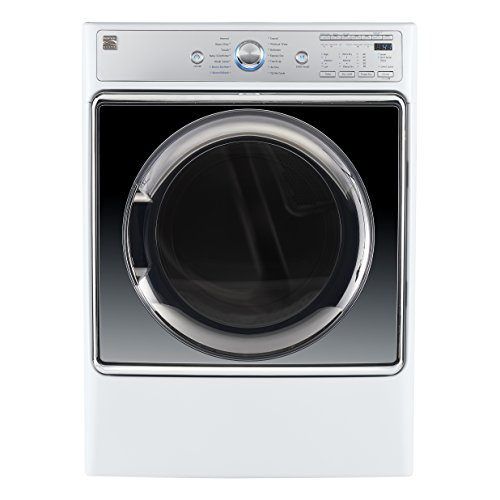 Kenmore Smart 91982  Gas Dryer with Accela Steam Technology, 9.0 cu. ft. in White - Compatible with Alexa and enabled with Amazon Dash Replenishment System, includes delivery and hookup