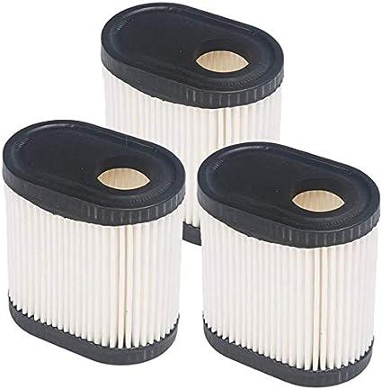 Cobeky Filtro de aire de repuesto para cortacésped Tecumseh 36905 740083A LEV100, LEV115, LEV120, LV195EA, OVRM6N, 3 unidades