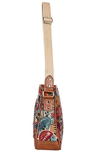 Mouse Purpose Mini Mickey Cross Multi Bag Pattern Body Disney Shoulder waPzq0Fna