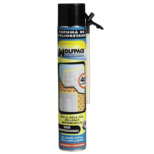 Wolfpack 14010155 - Espuma poliuretano, 750 ml (con canula)