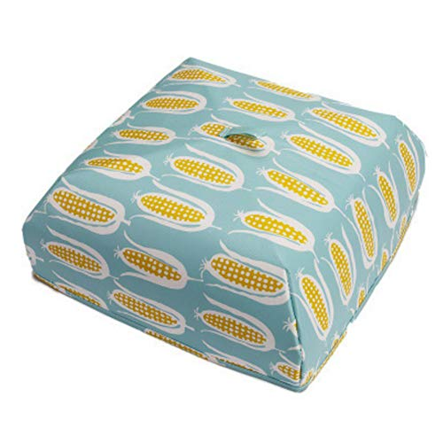 Warm Food Covers Household Kitchen Foldable Printed Practical Durable Dustproof Keep, 4 ()