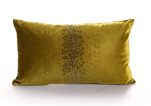 OJIA Fashion Home Decorative Luxury Thick Velvet Fabric Pret
