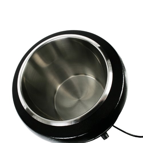 Excellant 10.50-Quart Stainless Steel Soup Warmer, Black