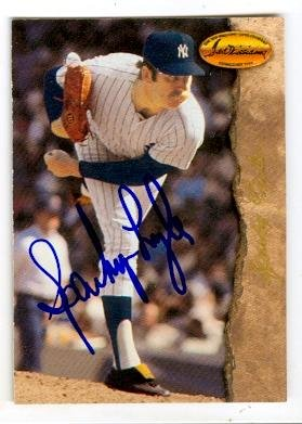 Autograph 119920 New York Yankees 1994 Twc No. 60 Sparky Lyle Autographed Baseball Card
