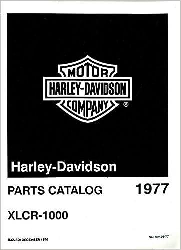 99426 77 1977 Harley Davidson Xlcr 1000 Cafe Racer Motorcycle Parts