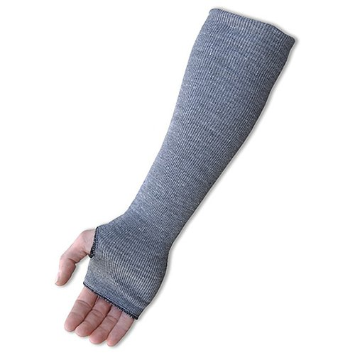 Thumb Hole 3 x 18 2-Ply Dark Gray 3 x 18 Size 18 Majestic Glove 3147-18TH Dyneema Sleeve