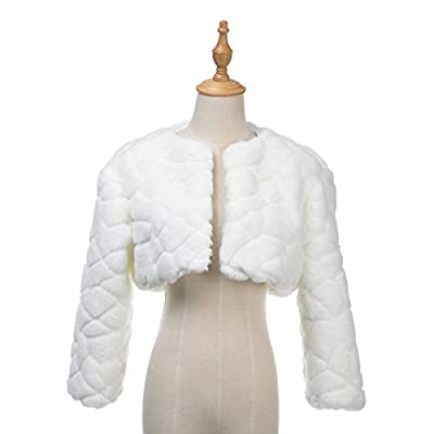 Remedios Long Sleeves Bridal Dress Wedding Bolero Jacket Shrug Wrap Coat