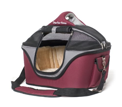Grey Dog Bedford And Carmine : One for pets the cozy carrier small carmine grey animals