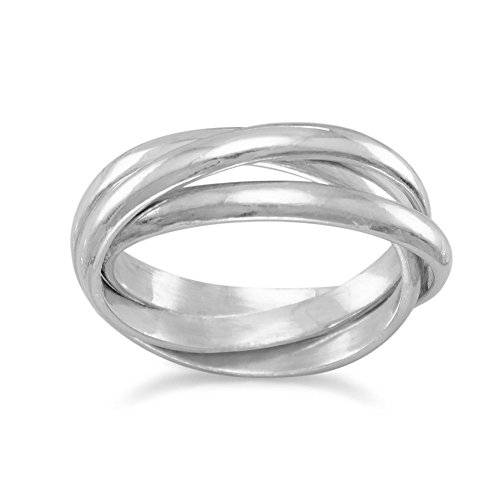 3 Band Rolling Ring - 2