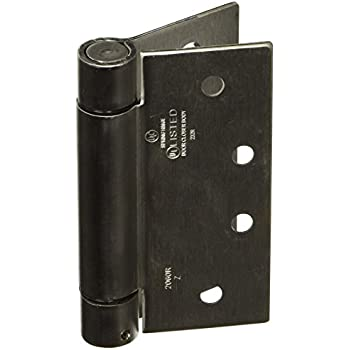 Stanley Hardware 4 By 4 Inch Spring Hinge Standard Weight