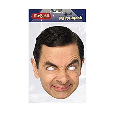 Mr Bean Official Celebrity Face Mask: Toys & Games