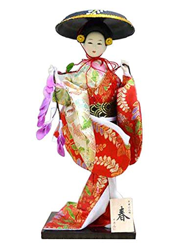 Black Temptation Japanese Traditional Doll Geisha Doll Antique Japanese Dolls [H]