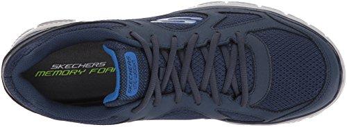 Skechers Mens Flex Advantage 1.0 Zizzo Fashion Sneaker Blu / Blu