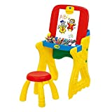 Folding Table, Drawing Board, Small Blackboard, Two in one, Study Table, 3-6 Years Old Children's...
