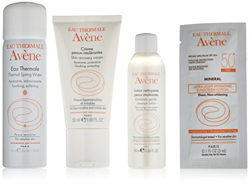 Eau Thermale Avène Hypersensitive Skin Regimen Kit, 9.6 oz. (Cream Avene Cold)