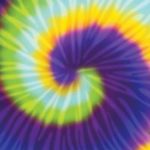 Tie Dye Paper (American Crafts 341322 12 x 12 Tie Dye Paper (25 Pack),)