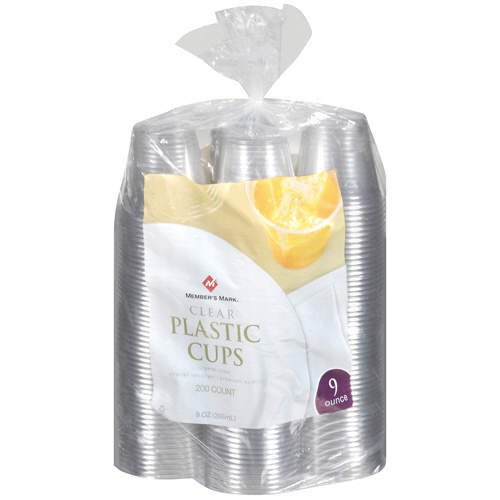 Members Mark Clear Plastic Cups