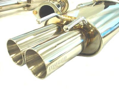 Megan Racing MR-CBS-N300T2 Type 2 Cat Back Exhaust Systems