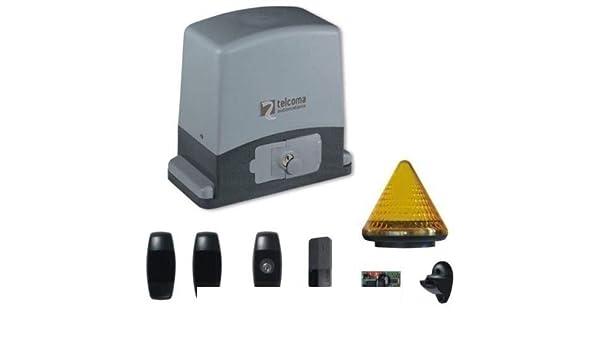 Dieffematic - Kit de automatización de Puerta corredera 600 kg 220 ...