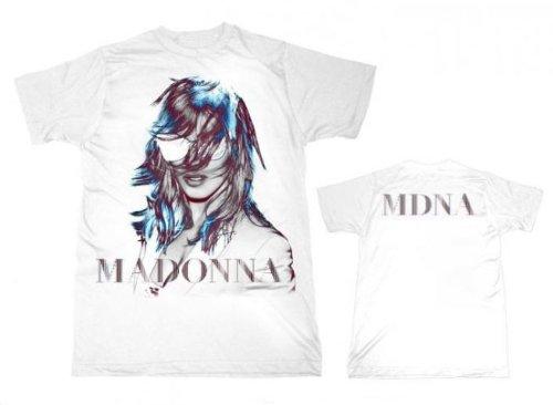 Madonna Mdna weiß Graphic Foto T-Shirt