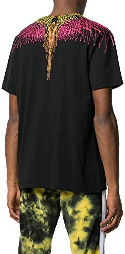 MARCELO BURLON Fashion Man CMAA018S20JER0041068 Black Cotton T-Shirt | Spring Summer 20