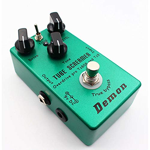 Upgraded Hand-made TS9 TS808 Overdrive Distortion Tube Screamer 2in1 true bypass ()