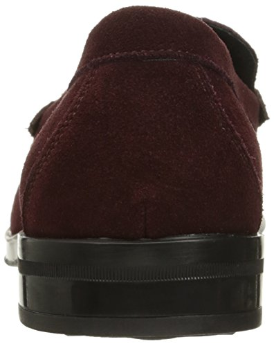 Stacy Adams Mens Mocassino Slip-on In Pelle Scamosciata Oxblood