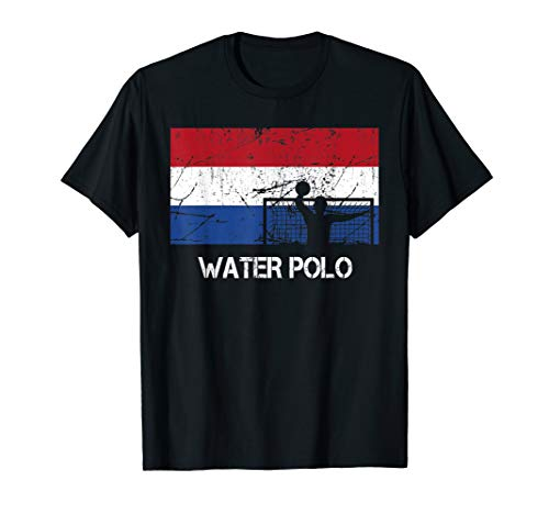 Netherlands Flag Water Polo Gift For Water Polo Player T-Shirt (Best Water Polo Player)
