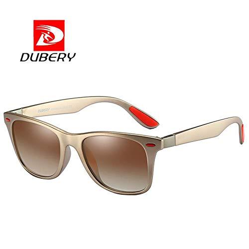 AMOFINY Fashion Glasses DUBERY Men's Polarized Sunglasses Outdoor Driving Men Women Sport -