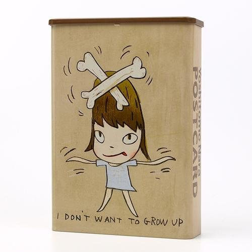 Yoshitomo Nara Print Works Postcard Box Set - 10 postcards and A Sticker