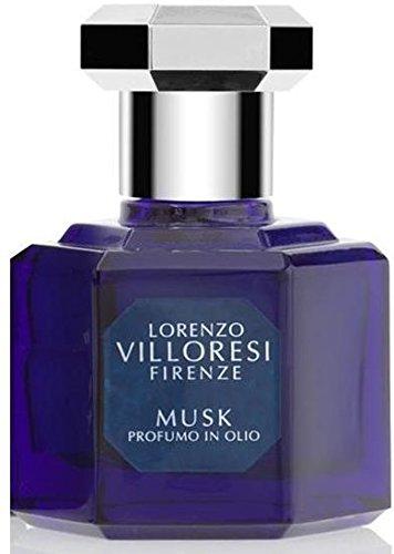 Lorenzo Villoresi Musk perfume in oil 1 Oz./30 ml New in Box