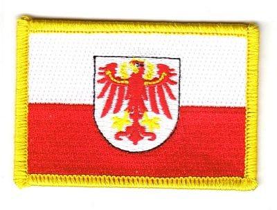 Flaggen Aufn/äher Patch Italien S/üdtirol Fahne Flagge