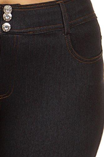 0da73ebb22a Simplicity Women s Plus Size Ultra Stretch Jeggings Leggings w ...