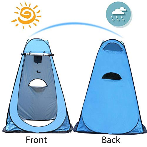 Pop Up Pod Changing Room Privacy Tent – Rain Shelter for Camping & Beach,Instant Portable Outdoor Shower Tent, Camp…