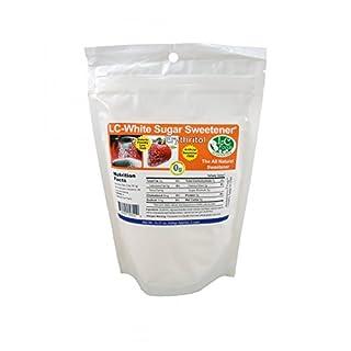 Low Carb White Sugar Sweetener - Erythritol - LC Foods - Paleo - Gluten Free - Diabetic Friendly - Low Carb Sugar - 15.37 oz