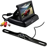 Esky Car Rear View System, HD Color Rear View Camera + 4.3 Monitor